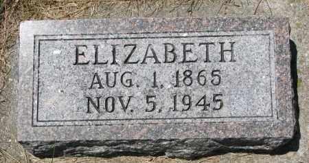 WEYHRICH, ELIZABETH - Pierce County, Nebraska | ELIZABETH WEYHRICH - Nebraska Gravestone Photos