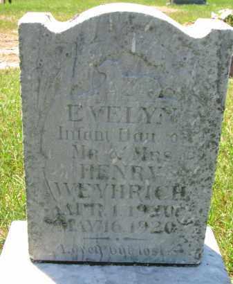WEYHRICH, EVELYN - Pierce County, Nebraska | EVELYN WEYHRICH - Nebraska Gravestone Photos