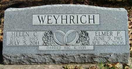 WEYHRICH, ELMER P - Pierce County, Nebraska | ELMER P WEYHRICH - Nebraska Gravestone Photos