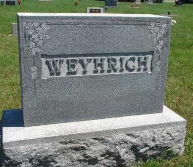 WEYHRICH, FAMILY STONE - Pierce County, Nebraska | FAMILY STONE WEYHRICH - Nebraska Gravestone Photos