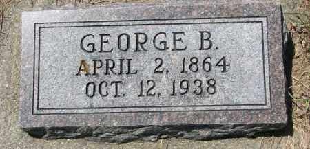 WEYHRICH, GEORGE B. - Pierce County, Nebraska   GEORGE B. WEYHRICH - Nebraska Gravestone Photos