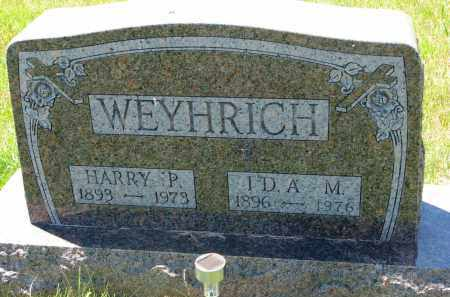WEYHRICH, HARRY P. - Pierce County, Nebraska | HARRY P. WEYHRICH - Nebraska Gravestone Photos