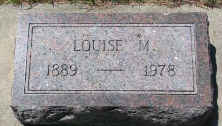 WEYHRICH, LOUISE M. - Pierce County, Nebraska | LOUISE M. WEYHRICH - Nebraska Gravestone Photos
