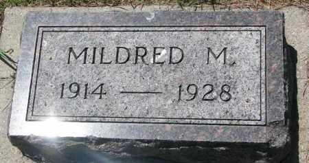 WEYHRICH, MILDRED M. - Pierce County, Nebraska   MILDRED M. WEYHRICH - Nebraska Gravestone Photos