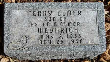 WEYHRICH, TERRY ELMER - Pierce County, Nebraska | TERRY ELMER WEYHRICH - Nebraska Gravestone Photos