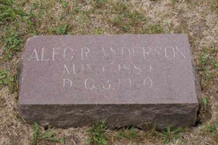ANDERSON, ALEC R. - Platte County, Nebraska   ALEC R. ANDERSON - Nebraska Gravestone Photos