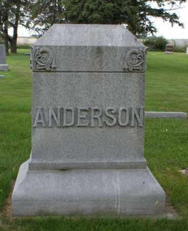 ANDERSON, FAMILY - Platte County, Nebraska   FAMILY ANDERSON - Nebraska Gravestone Photos
