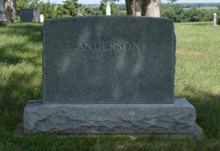 ANDERSON, FAMILY - Platte County, Nebraska | FAMILY ANDERSON - Nebraska Gravestone Photos