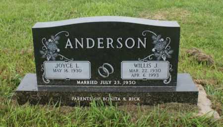 ANDERSON, JOYCE L. - Platte County, Nebraska | JOYCE L. ANDERSON - Nebraska Gravestone Photos