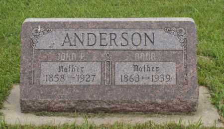 ANDERSON, ANNA - Platte County, Nebraska | ANNA ANDERSON - Nebraska Gravestone Photos