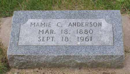 ANDERSON, MAMIE C. - Platte County, Nebraska | MAMIE C. ANDERSON - Nebraska Gravestone Photos
