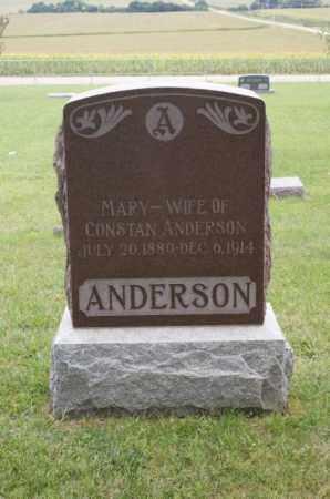 ANDERSON, MARY - Platte County, Nebraska | MARY ANDERSON - Nebraska Gravestone Photos