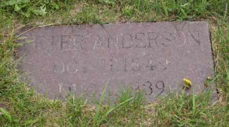 ANDERSON, PETER - Platte County, Nebraska   PETER ANDERSON - Nebraska Gravestone Photos
