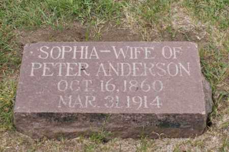 ANDERSON, SOPHIA - Platte County, Nebraska | SOPHIA ANDERSON - Nebraska Gravestone Photos