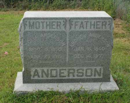 ANDERSON, ANDREW - Platte County, Nebraska | ANDREW ANDERSON - Nebraska Gravestone Photos