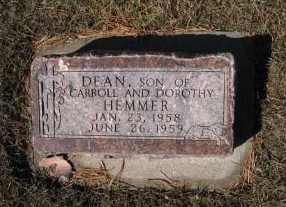 HEMMER, DEAN - Platte County, Nebraska   DEAN HEMMER - Nebraska Gravestone Photos