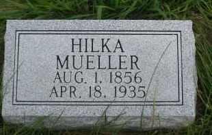 MUELLER, HILKA - Platte County, Nebraska | HILKA MUELLER - Nebraska Gravestone Photos
