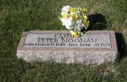 NOONAN, PETER - Platte County, Nebraska | PETER NOONAN - Nebraska Gravestone Photos