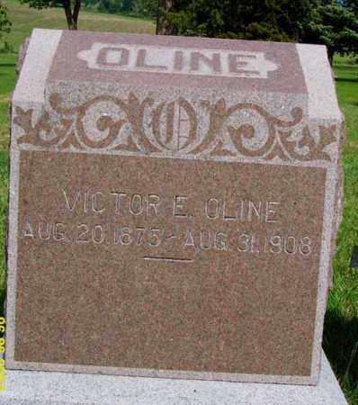 OLINE, VICTOR E. - Platte County, Nebraska   VICTOR E. OLINE - Nebraska Gravestone Photos