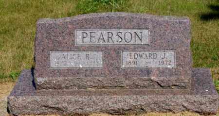 PEARSON, EDWARD J. - Platte County, Nebraska | EDWARD J. PEARSON - Nebraska Gravestone Photos