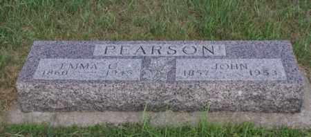PEARSON, JOHN - Platte County, Nebraska | JOHN PEARSON - Nebraska Gravestone Photos