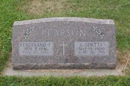 PEARSON, I. ODETTA - Platte County, Nebraska | I. ODETTA PEARSON - Nebraska Gravestone Photos