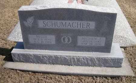 BENDER SCHUMACHER, NELLIE - Platte County, Nebraska   NELLIE BENDER SCHUMACHER - Nebraska Gravestone Photos