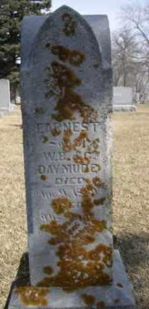 DAYMUDE, EARNEST - Polk County, Nebraska | EARNEST DAYMUDE - Nebraska Gravestone Photos