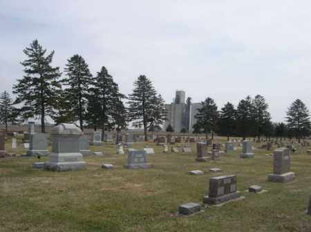 *GRACELAND CEMETERY, VIEW OF - Polk County, Nebraska | VIEW OF *GRACELAND CEMETERY - Nebraska Gravestone Photos