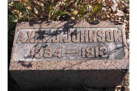 JOHNSON, AXEL J. - Polk County, Nebraska | AXEL J. JOHNSON - Nebraska Gravestone Photos
