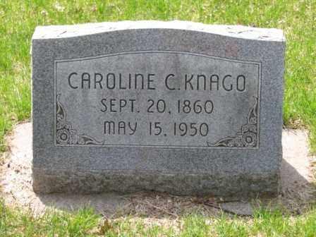 KNAGO, CAROLINE C. - Polk County, Nebraska | CAROLINE C. KNAGO - Nebraska Gravestone Photos