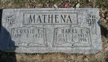 MATHENA, HARRY E. - Polk County, Nebraska   HARRY E. MATHENA - Nebraska Gravestone Photos