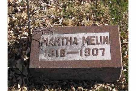 MELIN, MARTHA - Polk County, Nebraska | MARTHA MELIN - Nebraska Gravestone Photos