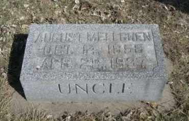 MELLGREN, AUGUST - Polk County, Nebraska | AUGUST MELLGREN - Nebraska Gravestone Photos
