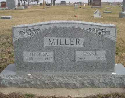 MILLER, FRANK - Polk County, Nebraska | FRANK MILLER - Nebraska Gravestone Photos