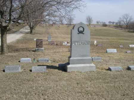 PETERSON, FAMILY - Polk County, Nebraska | FAMILY PETERSON - Nebraska Gravestone Photos