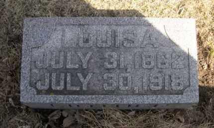 PETERSON, LOUISA - Polk County, Nebraska | LOUISA PETERSON - Nebraska Gravestone Photos