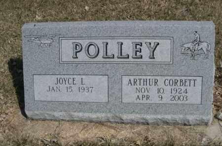 POLLEY, JOYCE L. - Polk County, Nebraska   JOYCE L. POLLEY - Nebraska Gravestone Photos