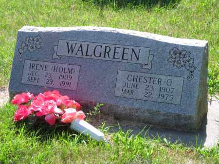 WALGREEN, CHESTER - Polk County, Nebraska | CHESTER WALGREEN - Nebraska Gravestone Photos