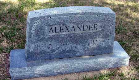 ALEXANDER, ANDREW  FREDERICK - Red Willow County, Nebraska | ANDREW  FREDERICK ALEXANDER - Nebraska Gravestone Photos