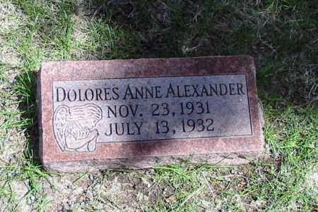 ALEXANDER, DOLORES ANN - Red Willow County, Nebraska | DOLORES ANN ALEXANDER - Nebraska Gravestone Photos