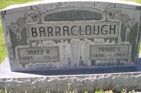 BARRACLOUGH, JABEZ R. - Red Willow County, Nebraska   JABEZ R. BARRACLOUGH - Nebraska Gravestone Photos
