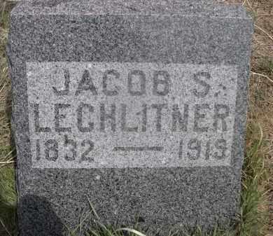 LECHLITNER, JACOB S. - Red Willow County, Nebraska | JACOB S. LECHLITNER - Nebraska Gravestone Photos