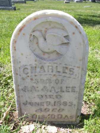 LEE, CHARLES - Red Willow County, Nebraska | CHARLES LEE - Nebraska Gravestone Photos