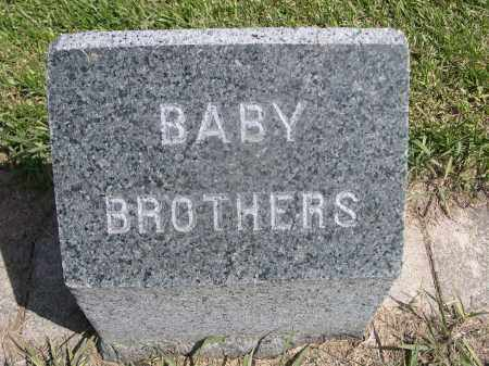 NORRIS, BABY BROTHERS - Red Willow County, Nebraska | BABY BROTHERS NORRIS - Nebraska Gravestone Photos
