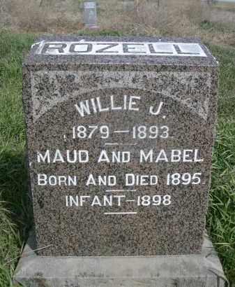 ROZELL, MAUD - Red Willow County, Nebraska | MAUD ROZELL - Nebraska Gravestone Photos