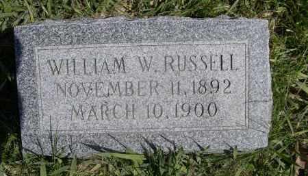 RUSSELL, WILLIAM - Red Willow County, Nebraska | WILLIAM RUSSELL - Nebraska Gravestone Photos