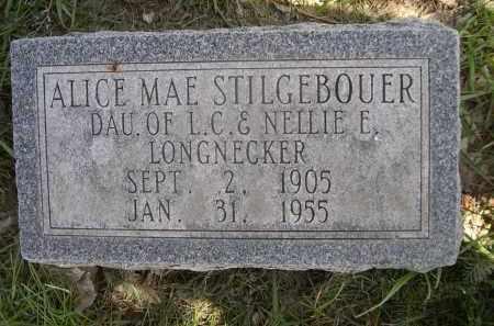LONGNECKER STILGEBOUER, ALICE MAE - Red Willow County, Nebraska | ALICE MAE LONGNECKER STILGEBOUER - Nebraska Gravestone Photos