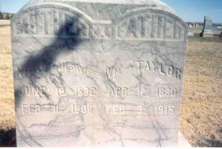 TAYLOR, NANCY - Red Willow County, Nebraska   NANCY TAYLOR - Nebraska Gravestone Photos