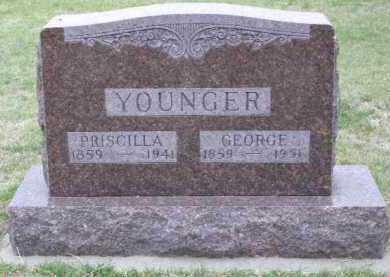YOUNGER, PRISCILLA - Red Willow County, Nebraska | PRISCILLA YOUNGER - Nebraska Gravestone Photos